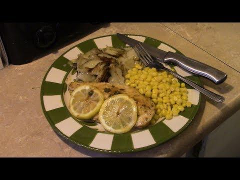Lemon Buttered Chicken