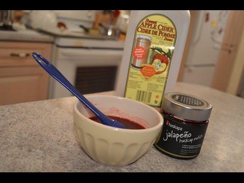 How to Make Apple Cider Jalapeño Haskap Glaze for Pork: Cooking with Kimberly