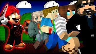 Minecraft: SUPER MARIO MURDER | MODDED MINI-GAME