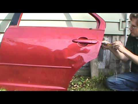 Fusion Rear Door Latch and Exterior Handle Removal