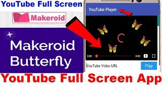 Spotlight Component | App Introduction | Makeroid Butterfly
