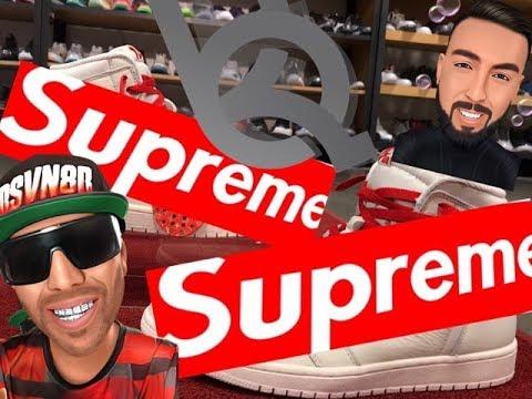 Custom Retro Jordan 1 Supreme