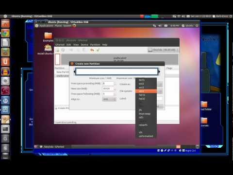 Install Ubuntu with separate Home partition