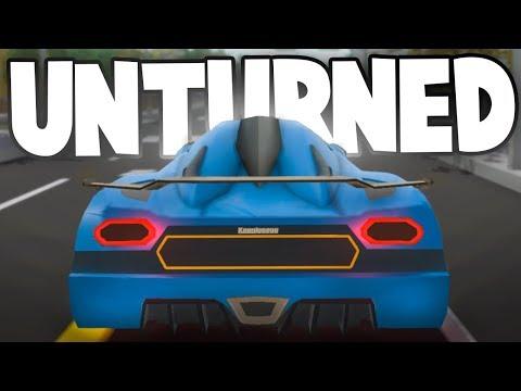 Unturned Mod Showcase: SUPERCAR Mod! (Koenigseggs, Paganis, Lamborghinis & More)