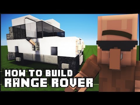 ► Minecraft : How to Make - Range Rover