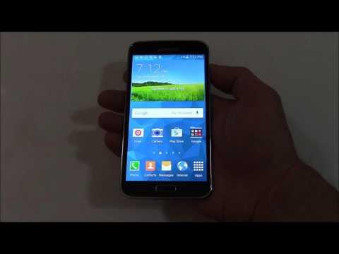 How To Take A Screenshot On A Samsung Galaxy S5 Smartphone