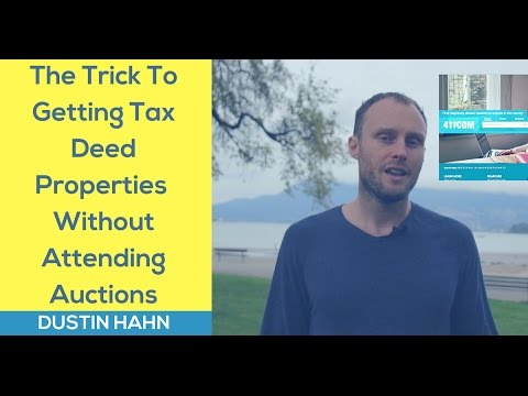 How To Get Tax Deed Deals OUTSIDE Of An Auction [TLTV]