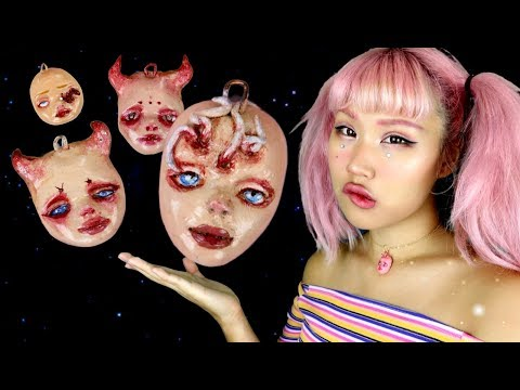 Making Doll Faces | ALIENMOÈ DOLLFACE STORIES #10