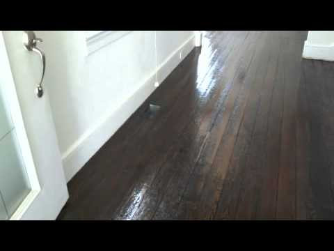 100 years old distressed floor