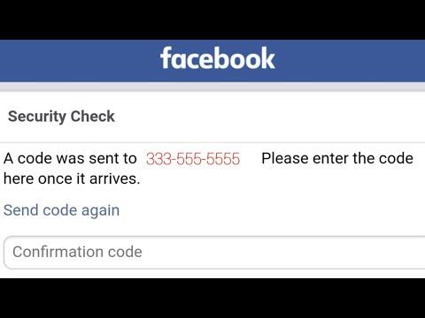 Facebook phone number verification problem solved