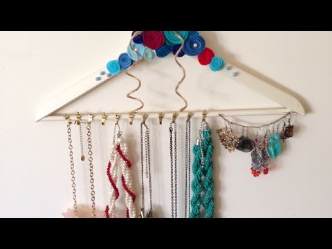 Make a Pretty Jewelry Hanger  - Style - Guidecentral