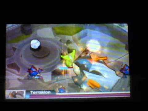 Pokemon Rumble Blast Hunting Terrakion