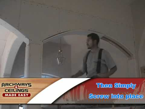 How to Drywall an Archway (Preferred Method)