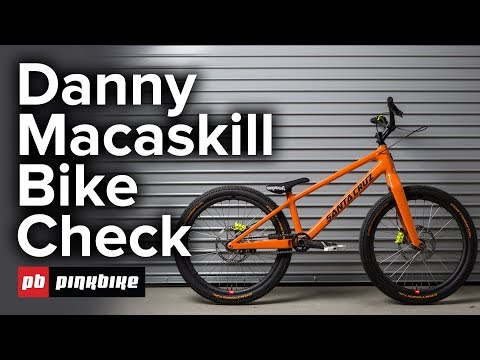 Danny Macaskill's Santa Cruz Bike Check 2018