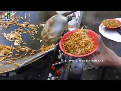 How to make Chinese Noodles | Crispy Fried Noodles Recipe with Step By Step street food