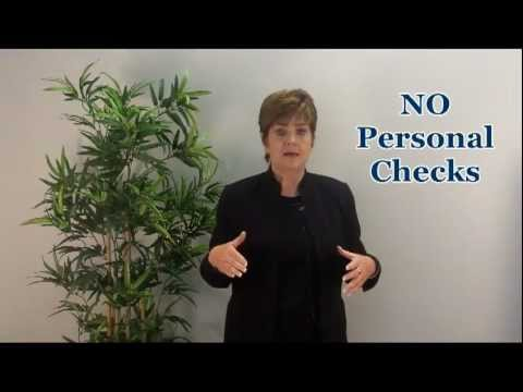 Closing Your Escrow, Can I Write a Check.2-Minute Real Estate Video