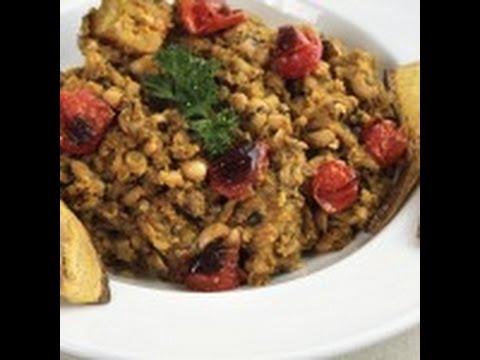 Nigerian Beans and Plantain Porridge