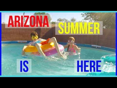 Arizona Summer Heat Is Here