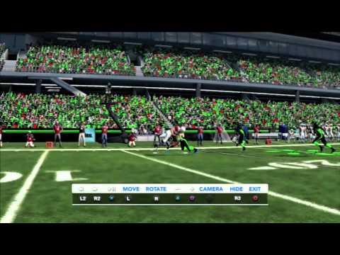 Madden 12 full game part 1 - Madden 13 custom teams