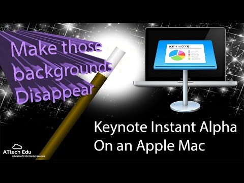The Keynote Instant Alpha - remove background colour in Keynote - bg color removal w/ Instant Alpha