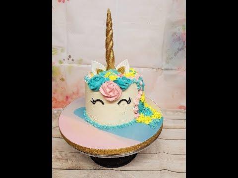how to make a unicorn cake