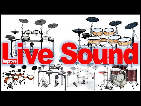 7 Playing Live Tips For A More Realistic And Powerful Electronic Drum sound
