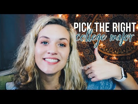 PICKING THE RIGHT MAJOR FOR COLLEGE