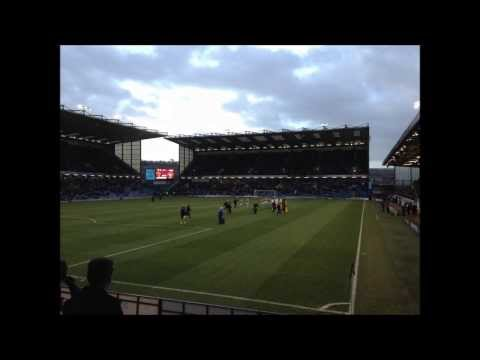 TURF MOOR.BURNLEY 180° PANORAMIC VIEW FROM THE AWAY END
