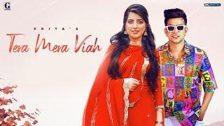 Tera Mera Viah : PRIYA (Official Song) Jass Manak | MixSingh | Punjabi Songs | GK DIGITAL | Geet MP3