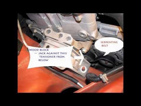Cobalt Serpentine Belt Replacement