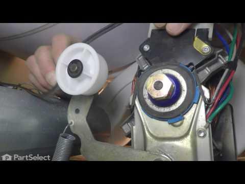 Dryer Repair – Replacing the Idler Pulley (Whirlpool Part # WP6-3700340)