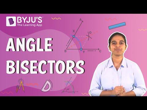 Class 6-10 - Angle Bisectors