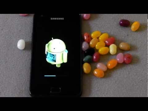How to update Samsung galaxy S2 to latest Android version firmware.MP4