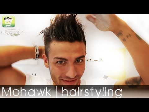 Men's Hairstyle 2014 | Celebrity Mohawk | Permanent Straight Hair