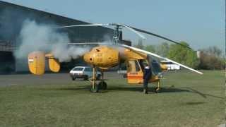 Kamov Ka-26 test flight (HD)