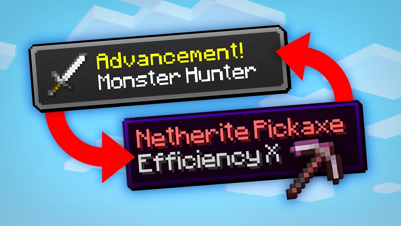 Minecraft, But Advancements Give OP Items...