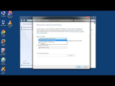 How to Backup your Windows by Creating System Image