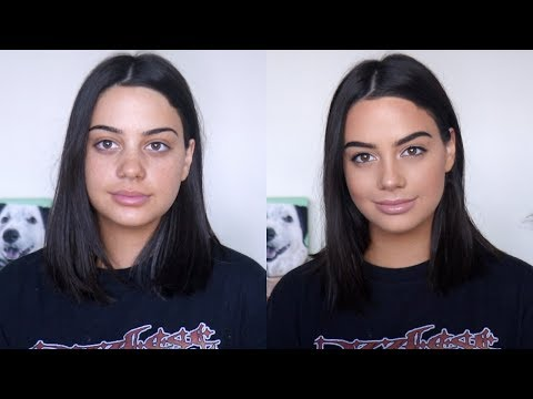 GRWM: MY LONG LASTING EVERYDAY MAKEUP! (+ how to be a catfish lol)