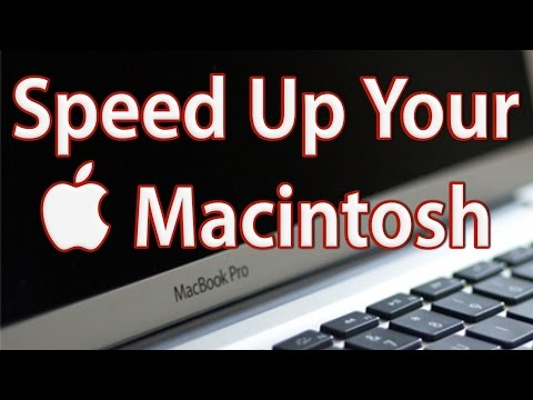 How to Speed Up Mac Computer - Make Your Mac Run Faster (Best Tips)
