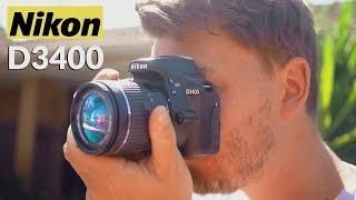 Nikon D3400 Review! (vs D3300/Canon T6)