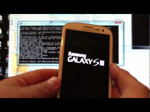 Verizon Samsung Galaxy S III Root and Install Custom Recovery EASY w/ download SCH-I535