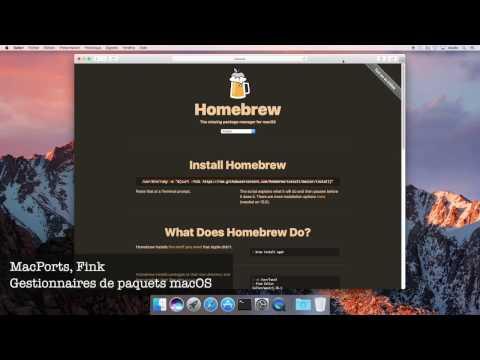 Installer Homebrew sur son Mac