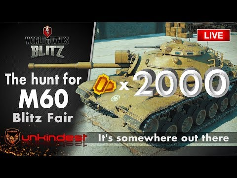 M60 Hunt: 2000 tickets, what can you get || Blitz  (un) Fair