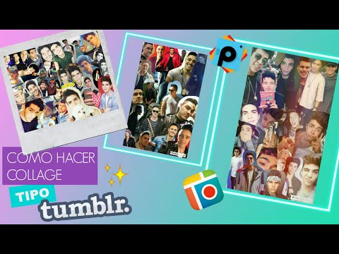 ♥DIY: Collage Tipo Tumblr |Pic Collage & PicsArt♥