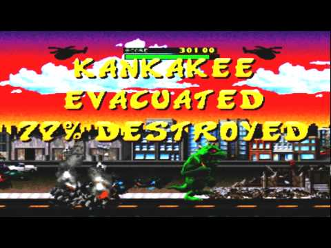 Hora dos classicos : Rampage World Tour - Ps 1