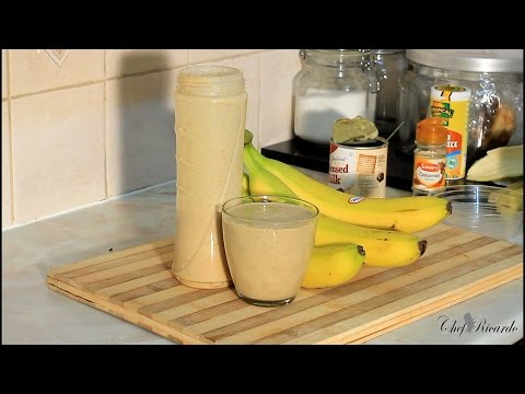 Oats Punch The Best In The World Jamaica Drink Home Make Oats Punch | Recipes By Chef Ricardo