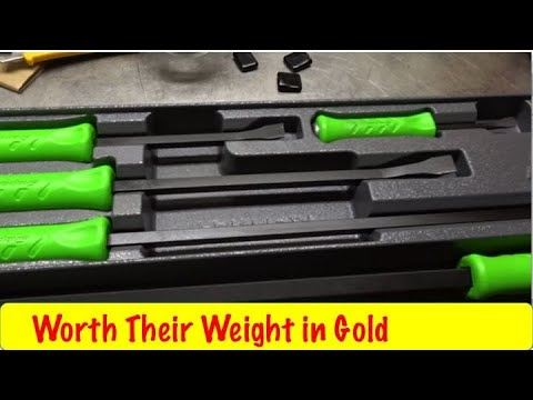 Snap On Pry Bar Set SPBS704AG Unboxing