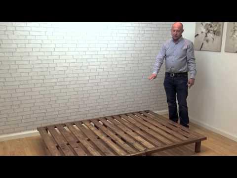 Nepal Low Platform Bed - funky futon