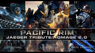PACIFIC RIM JAEGER TRIBUTE 2.0 with MOVIE & CUSTOM FAN ARTWORK