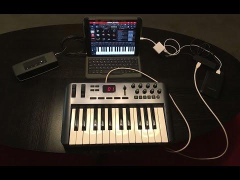 Mobile MIDI Setup with iPad & Co